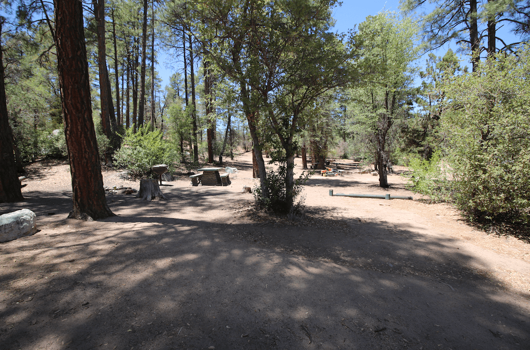 Prescott Area Campgrounds Powell Springs #1
