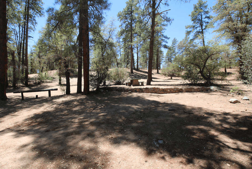 Prescott Area Campgrounds Powell Springs #3
