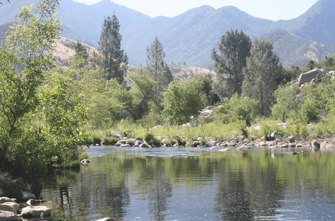 Kern River Campgrounds - Camp Three Lower Kern View