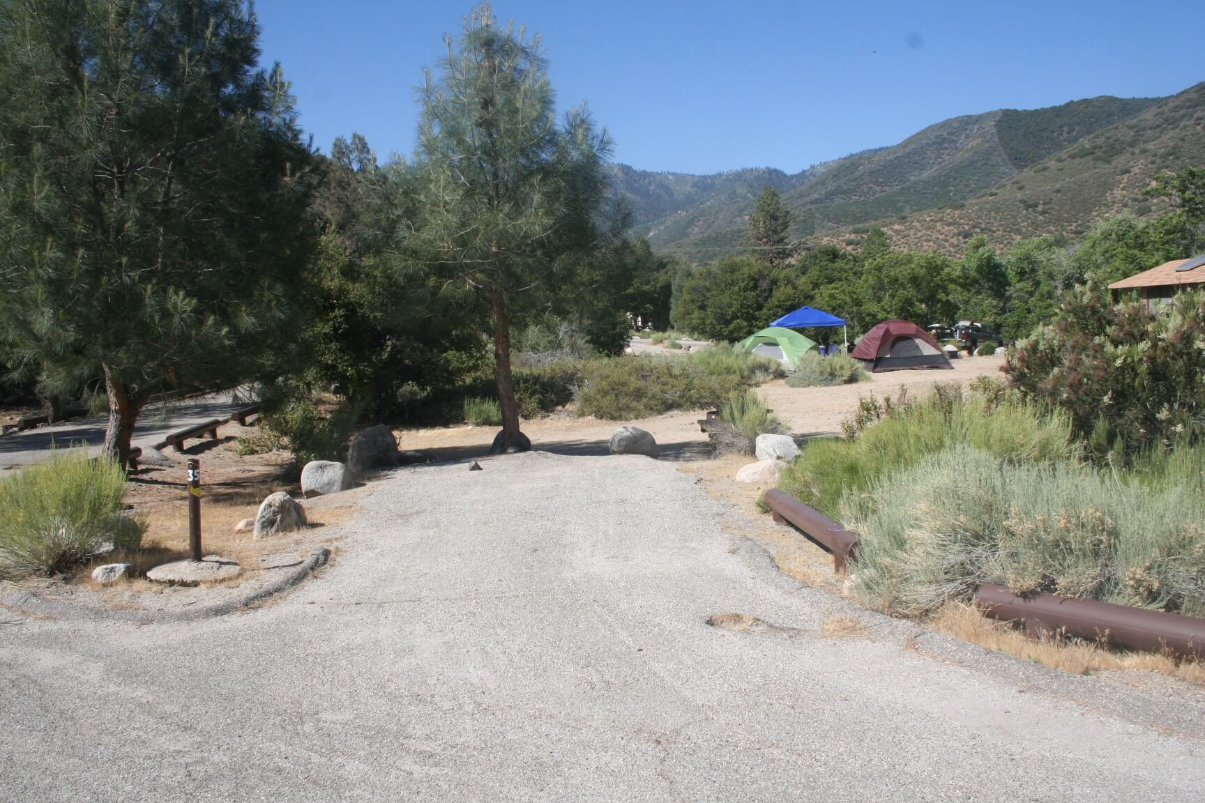 Kern River Campgrounds - Fairview Campsite 35