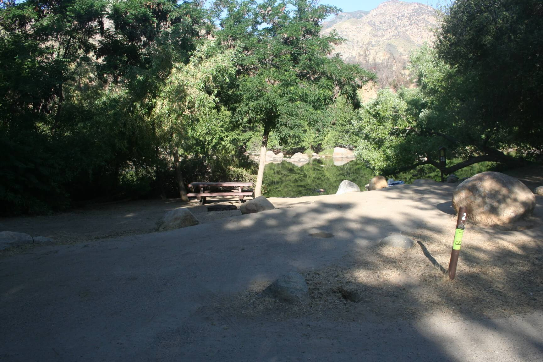 Kern River Campgrounds - Headquarters Campsite 25