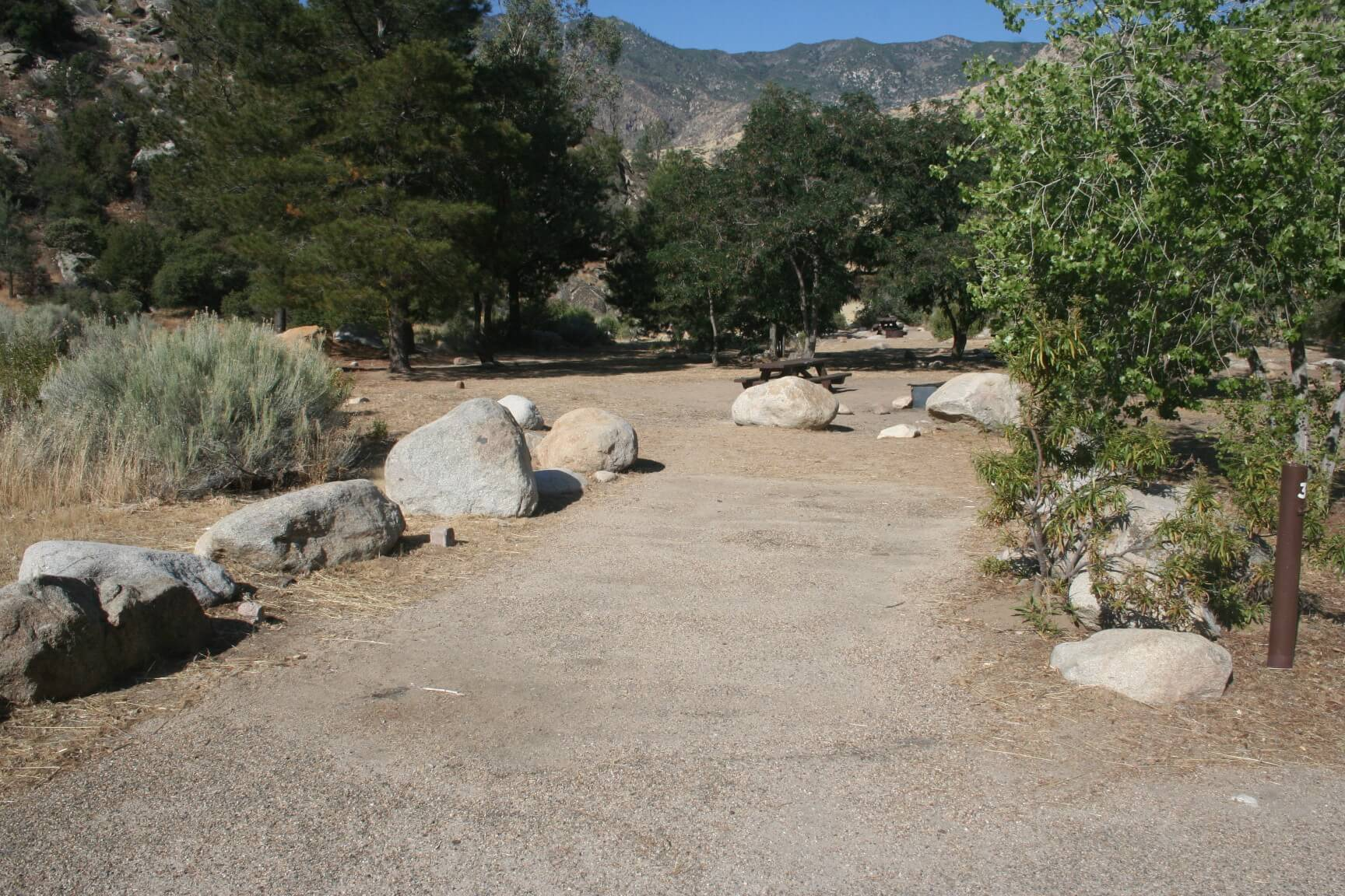 Kern River Campgrounds - Hospital Flat Campsite 31