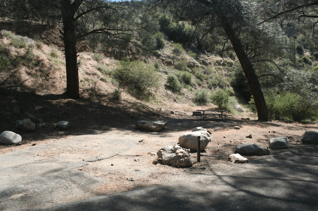 Kern River Campgrounds - Limestone Campsite 1
