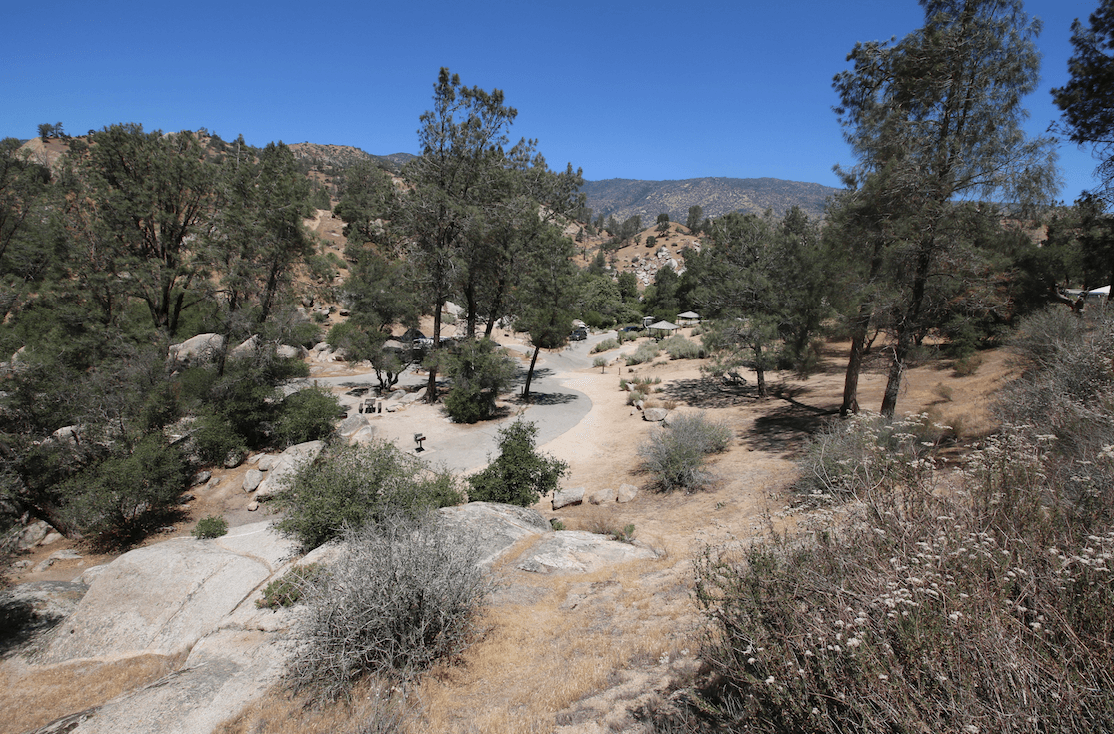 Kern River Campgrounds - Sandy Flat