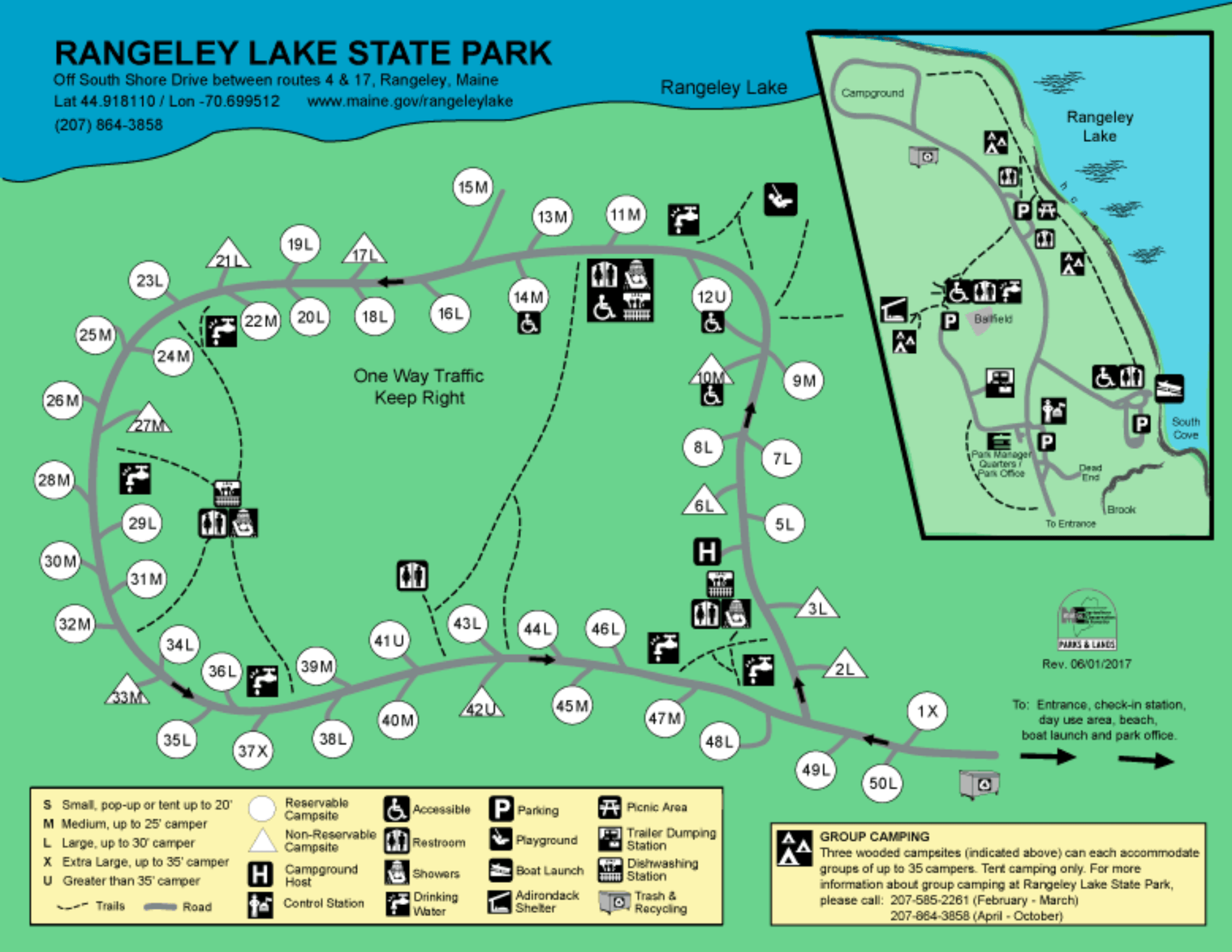 Rangeley Lake State Park - Campsite Photos, Info and ...