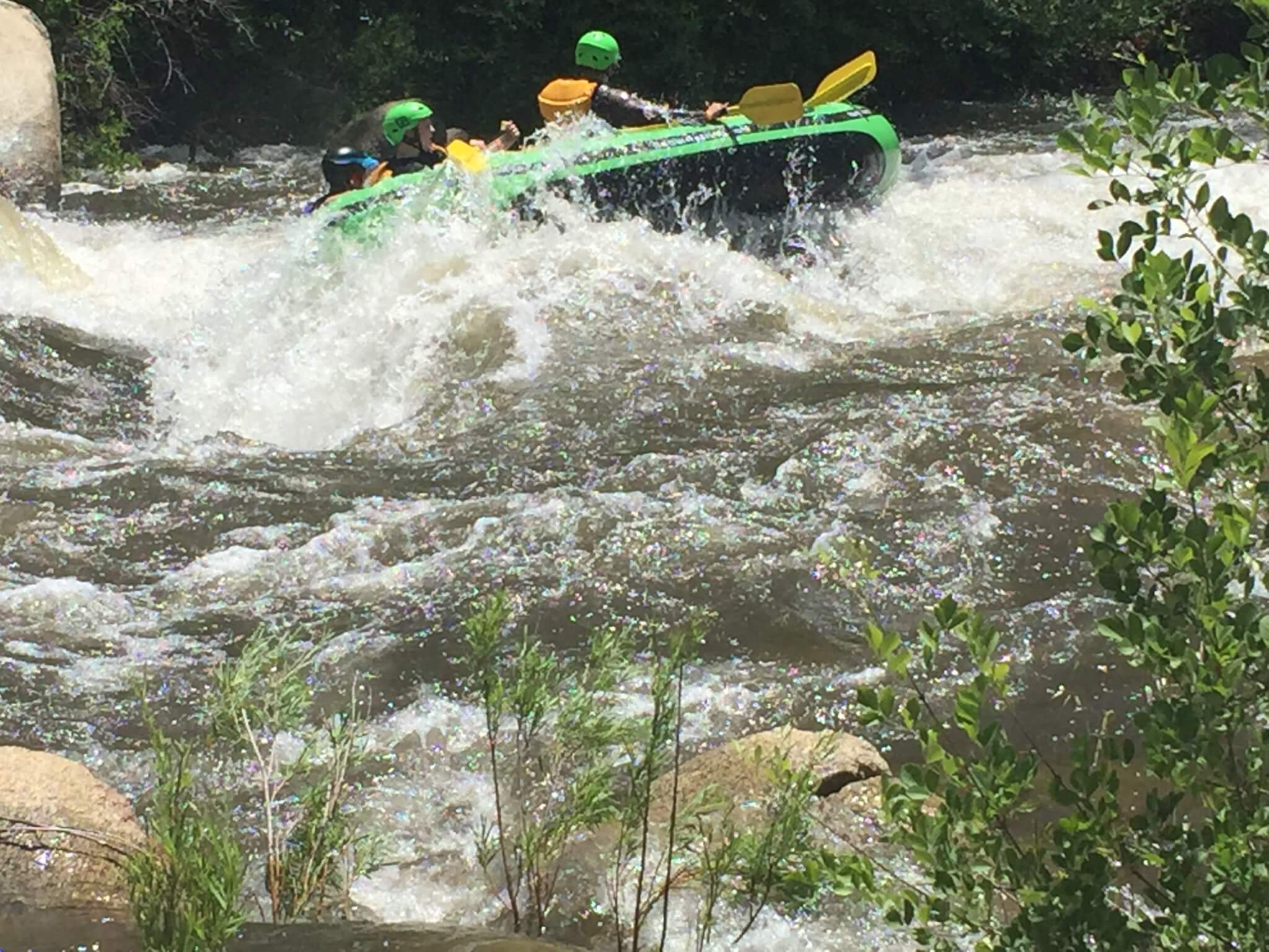 Kern River Campgrounds - Rafting Fail