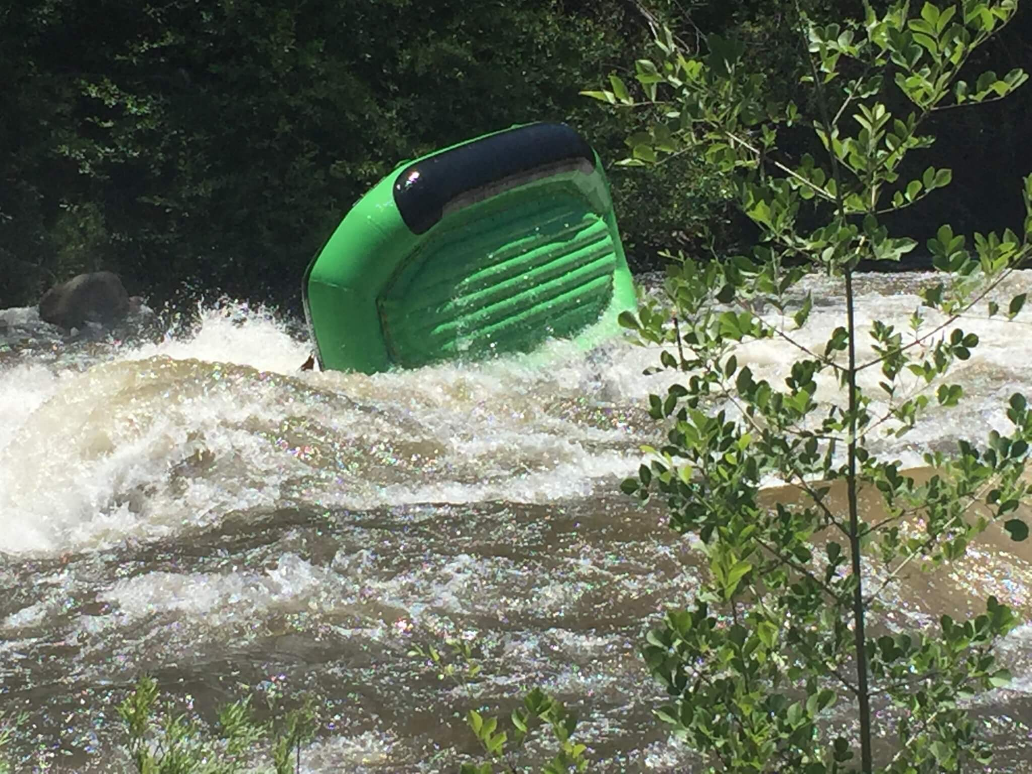 Kern River Campgrounds - Rafting Flip