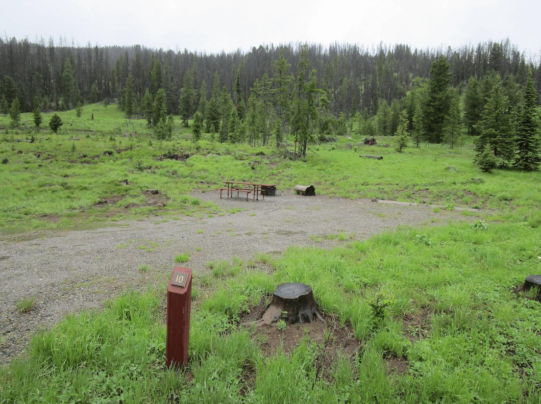 Helena Area Campgournds - Kading Camp 10