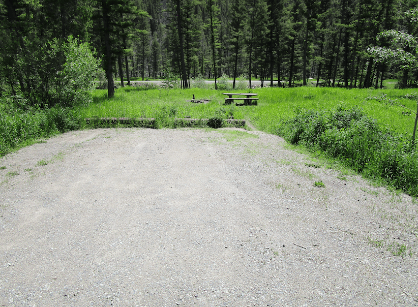 Helena Area Campgrounds - Moose Creek 2