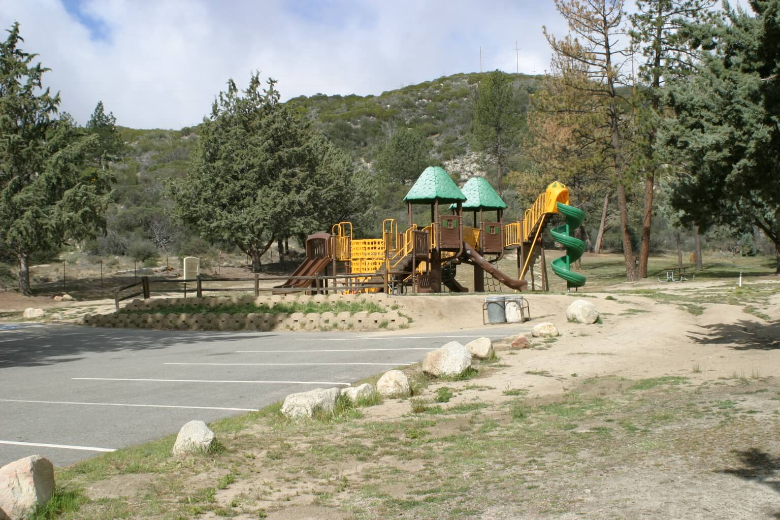 Riverside County Parks Campgrounds_Hurkey Creek Campground Playground