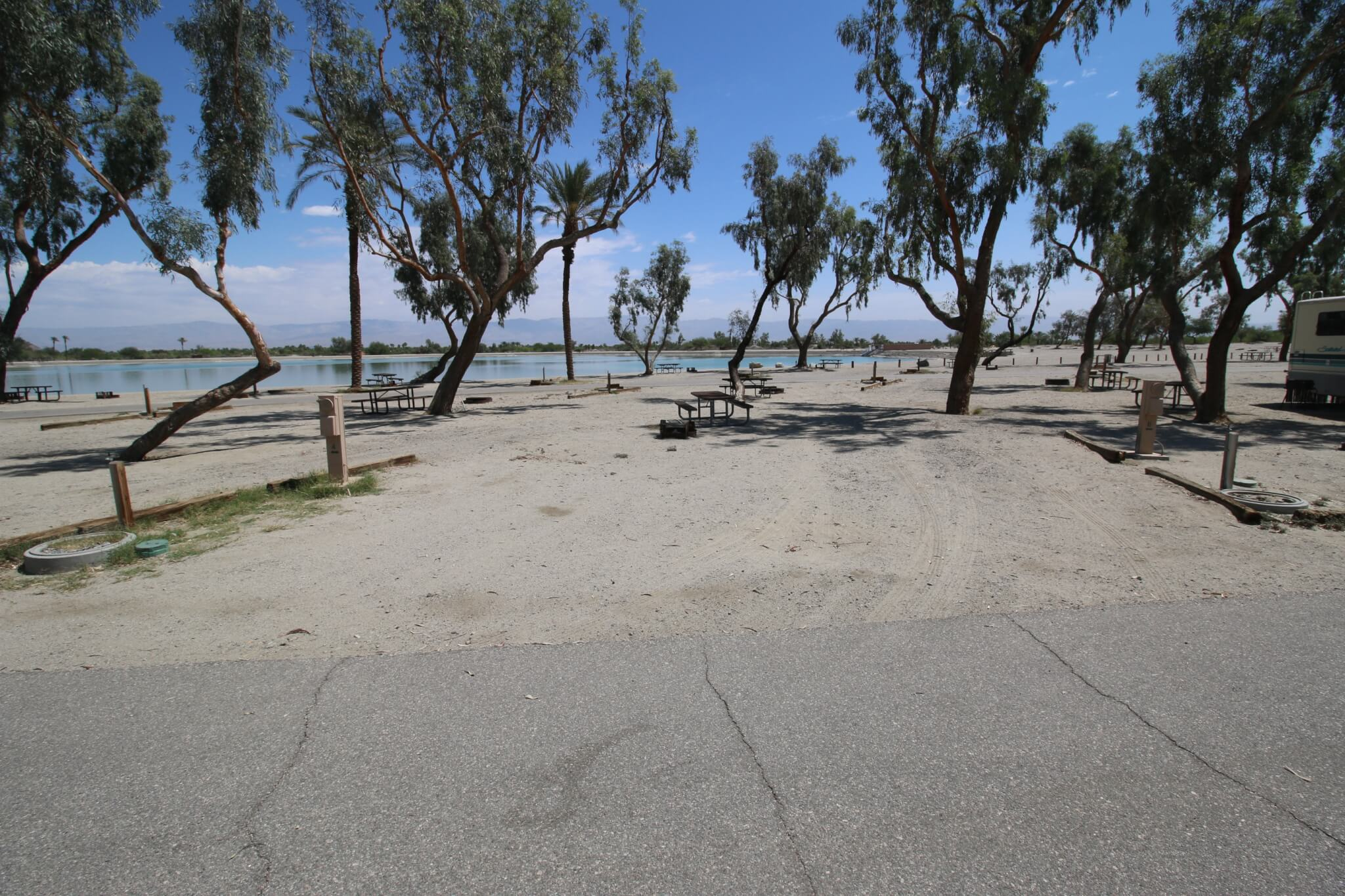 Riverside County Parks Campgrounds_Lake Cahuilla Campsite 6