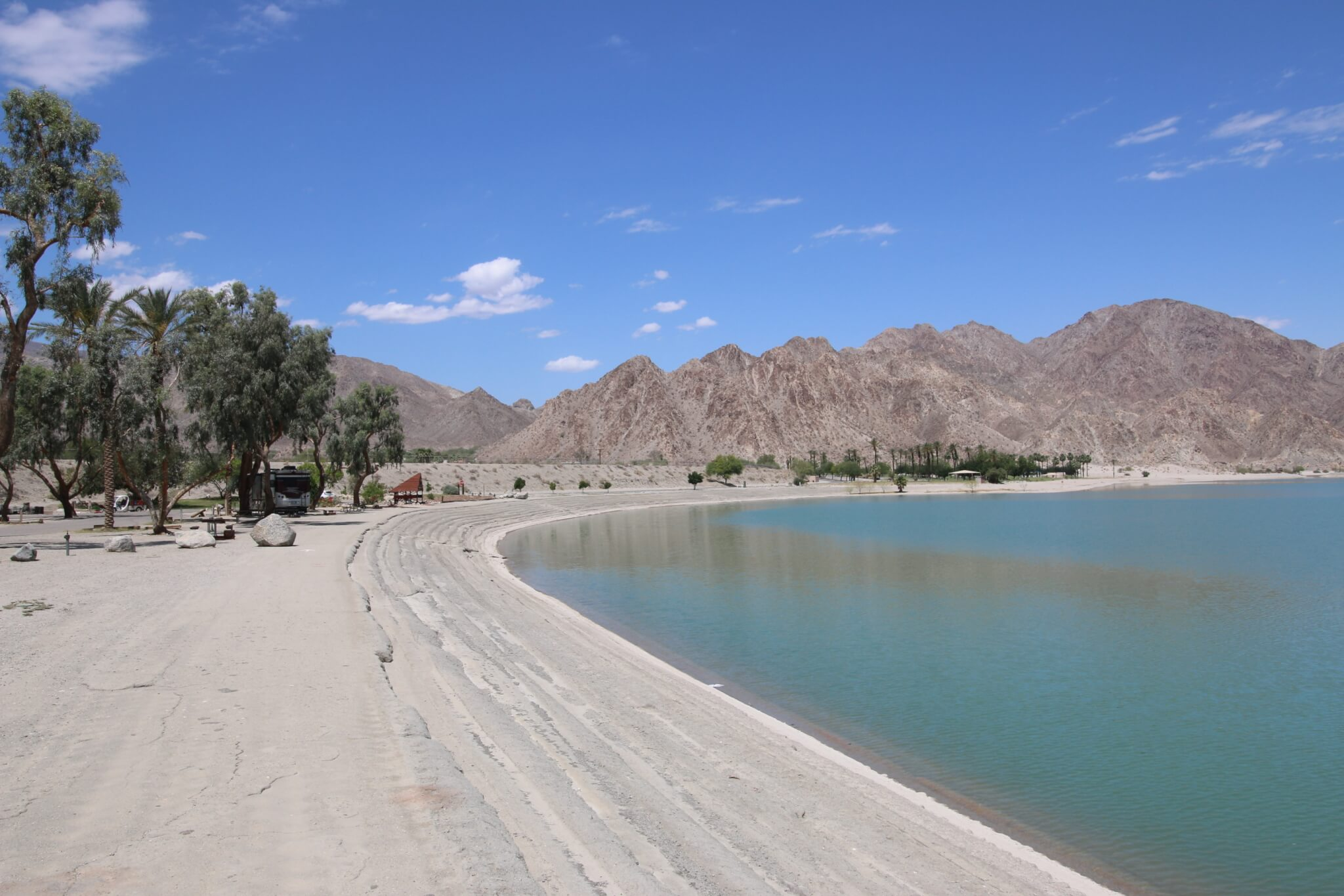 Riverside County Parks Campgrounds_Lake Cahuilla Lake View