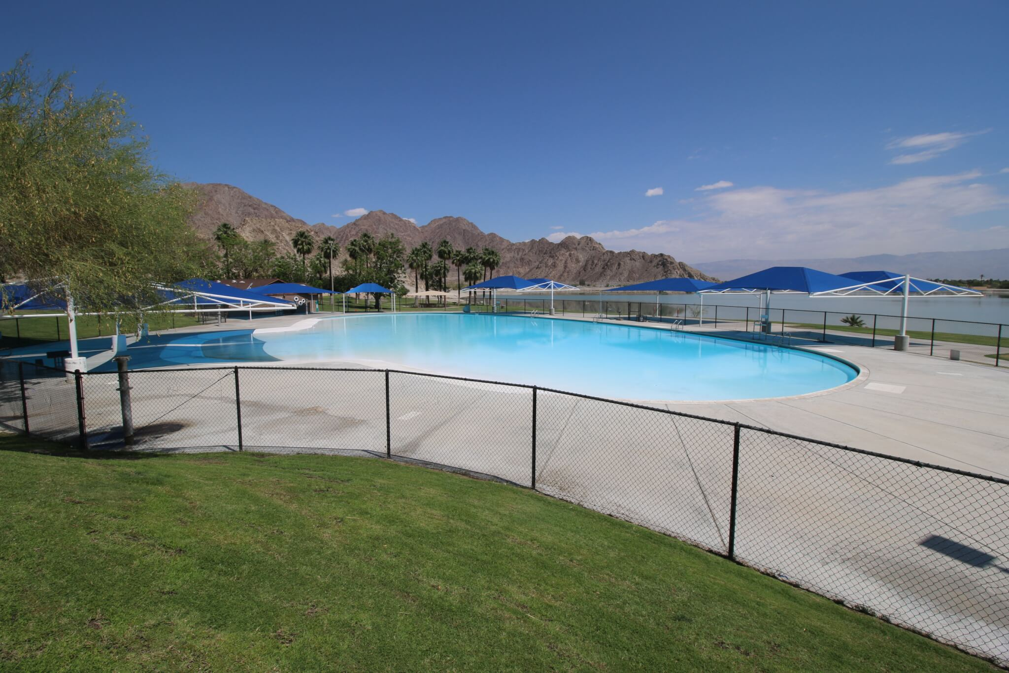 Riverside County Parks Campgrounds_Lake Cahuilla Swimming Pool