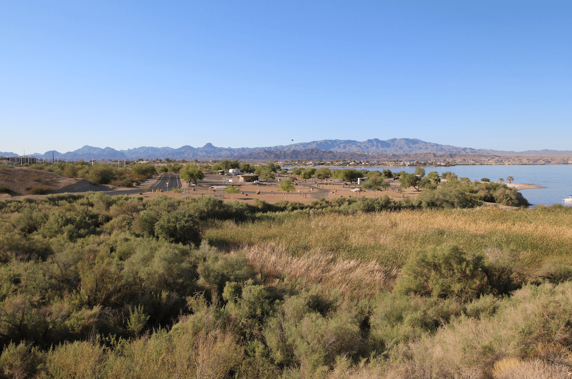 Western US - Fall Camping Guide - Lake Havasu State Park Campground