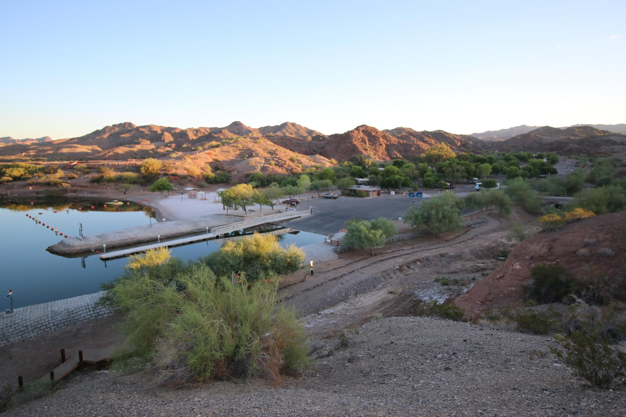 Western US - Fall Camping Guide_Cattail Cove State Park