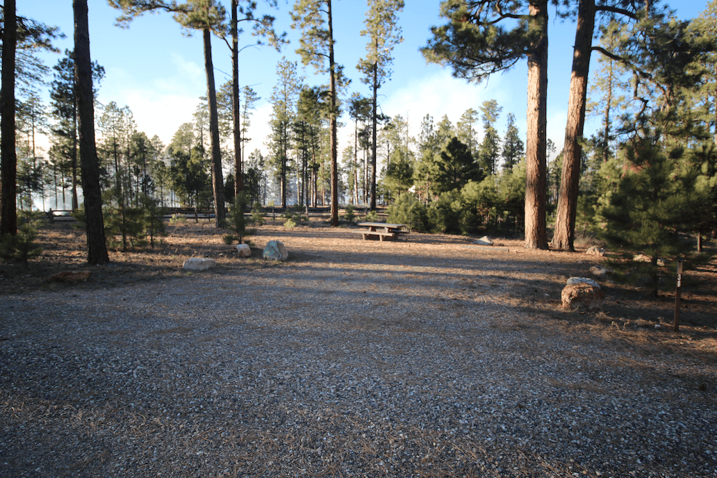 Grand Canyon National Park Area Campgrounds-Jacob Lake Site 38