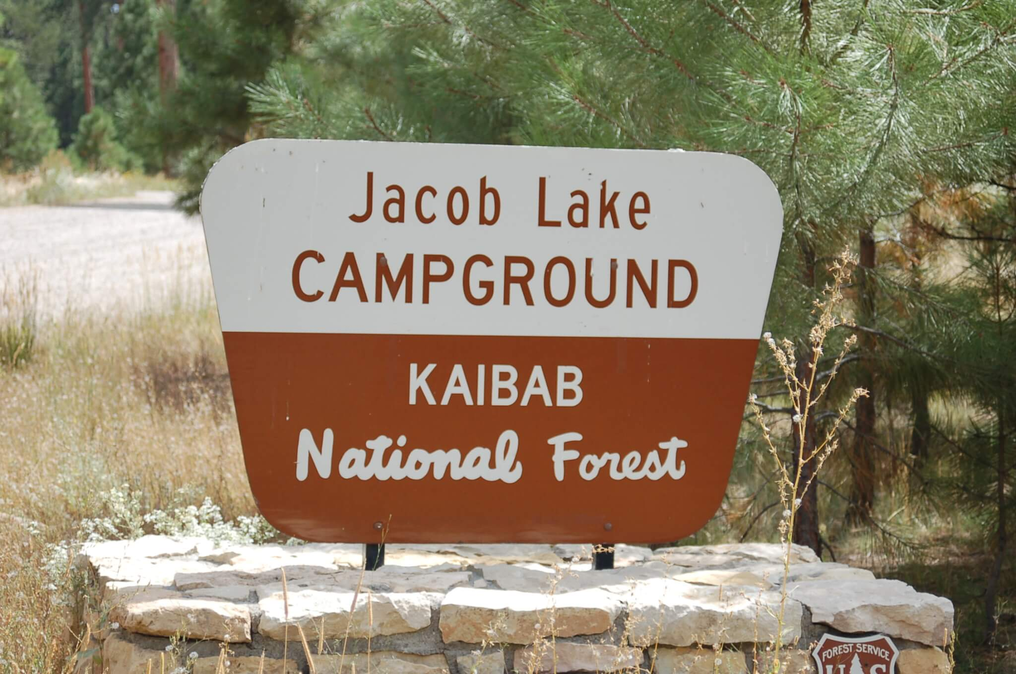 Grand Canyon National Park Area Campgrounds-Jacob_Lake_Sign