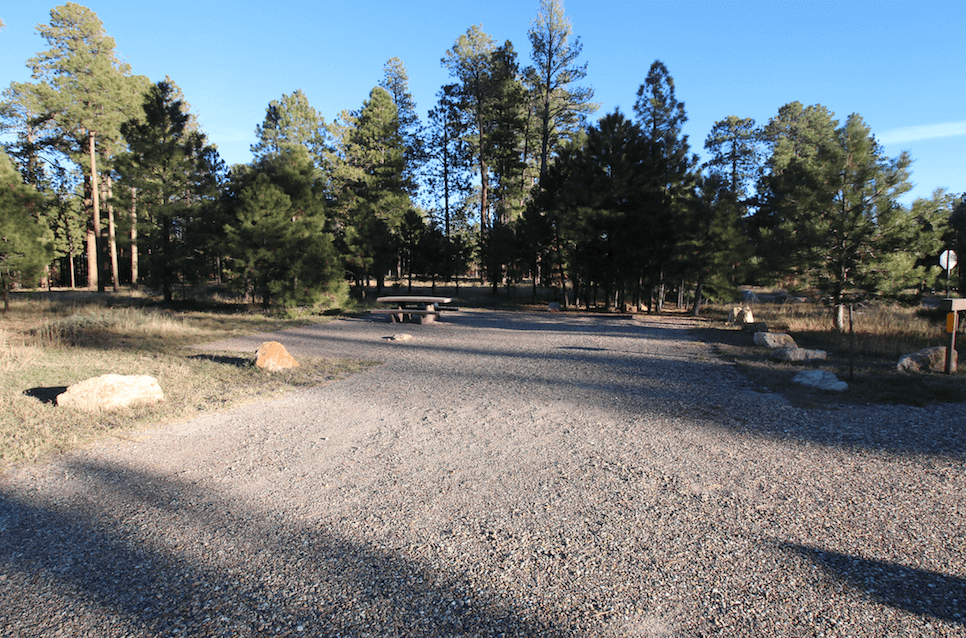 Grand Canyon National Park Area Campgrounds-Jacobe Lake-Site 24