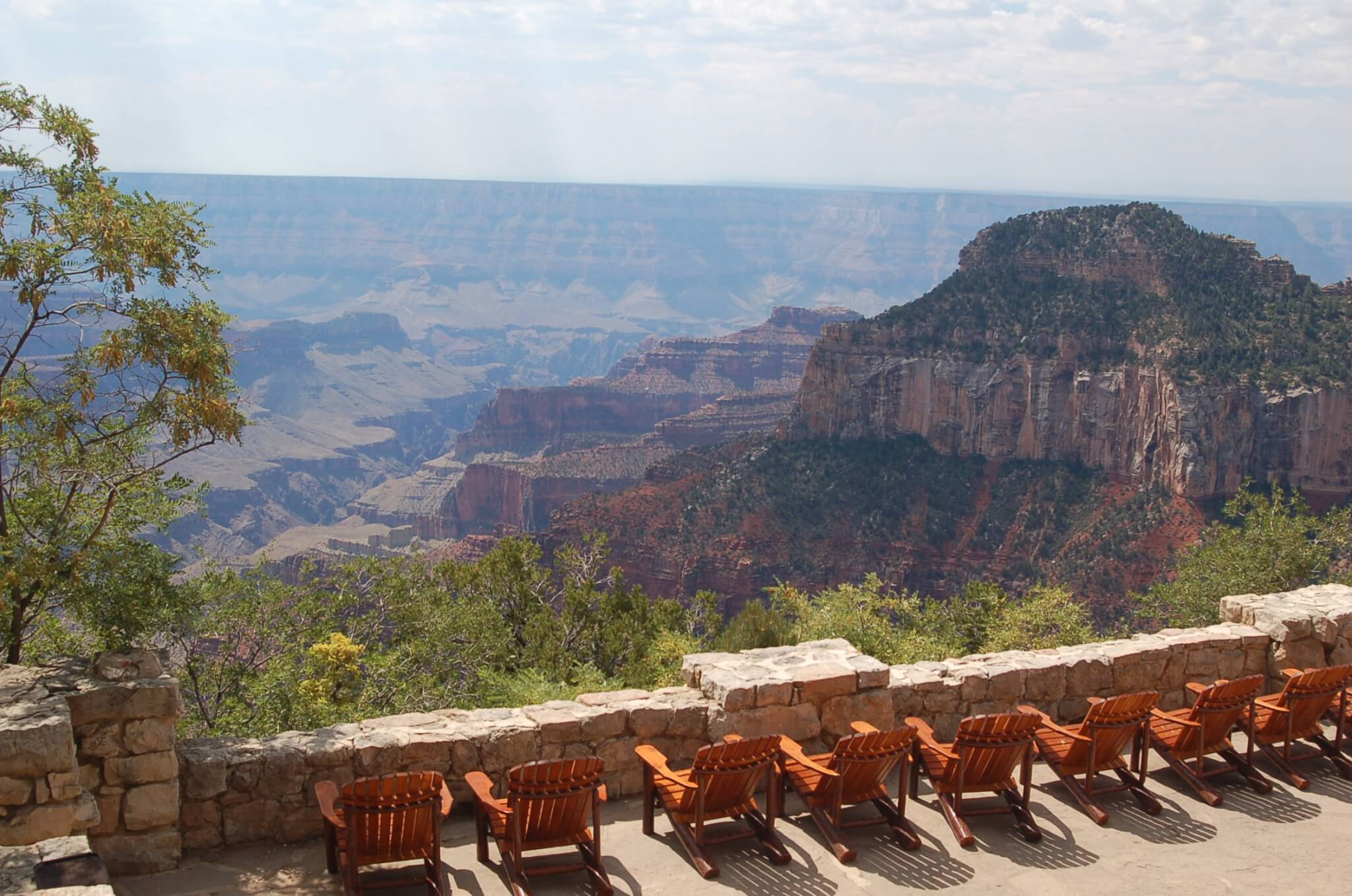 Grand Canyon National Park Area Campgrounds-North Rim Lodge View