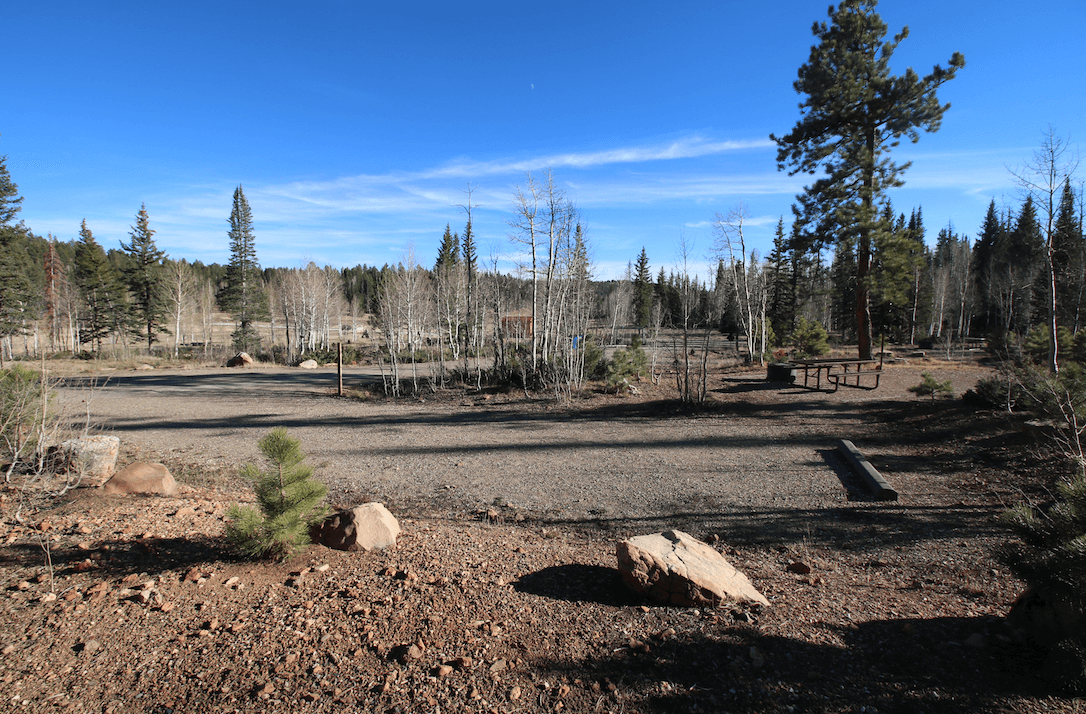 Grand Canyon National Park North Rim Area Campgrounds-Demotte-Site 3