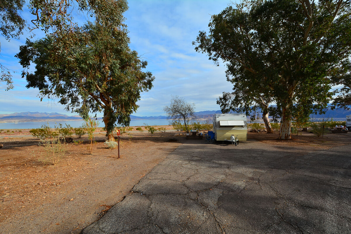 Lake Mead National Recreation Area Campgrounds Boulder Beach Site 87