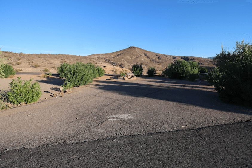 Lake Mead National Recreation Area Campgrounds-Callville Bay Site 67