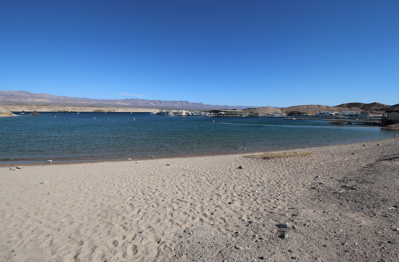 Lake Mead National Recreation Area Campgrounds-Cottonwood Cove Beach
