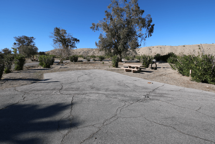 Lake Mead National Recreation Area Campgrounds-Cottonwood Cove Site 74