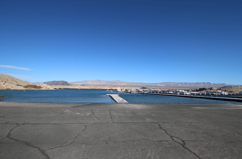 Lake Mead National Recreation Area Campgrounds-Cottownwood Cove Boat Ramp