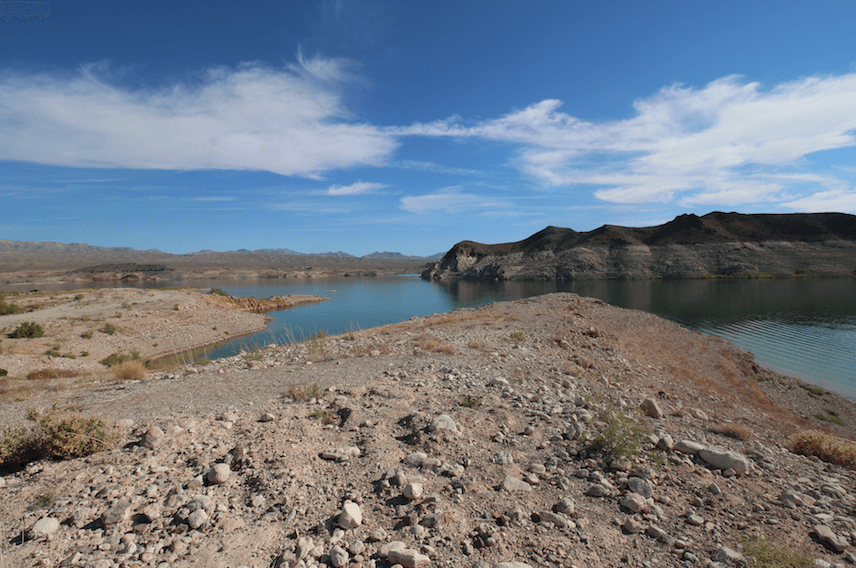 Lake Mead National Recreation Area Campgrounds-Echo Bay-Lake Mead View