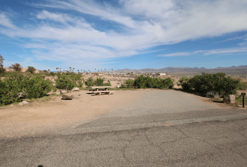 Lake Mead National Recreation Area Campgrounds-Echo Bay Lower Site 19