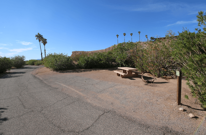 Lake Mead National Recreation Area Campgrounds-Echo Bay Lower Site 24