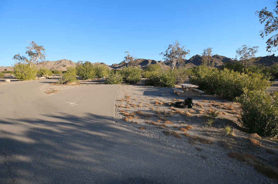 Lake Mead National Recreation Area Campgrounds-Katherine Landing Site 141