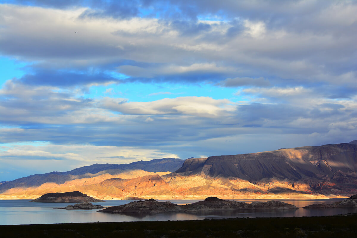 Lake Mead National Recreation Area Campgrounds-Lake Mead View
