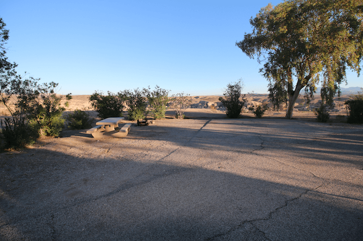 Lake Mead National Recreation Area Campgrounds-Las Vegas Bay Site 34