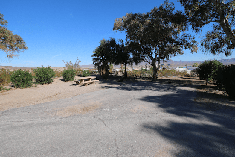 Lake Mead National Recreation Area Campgrounds-Temple Bar Site 43