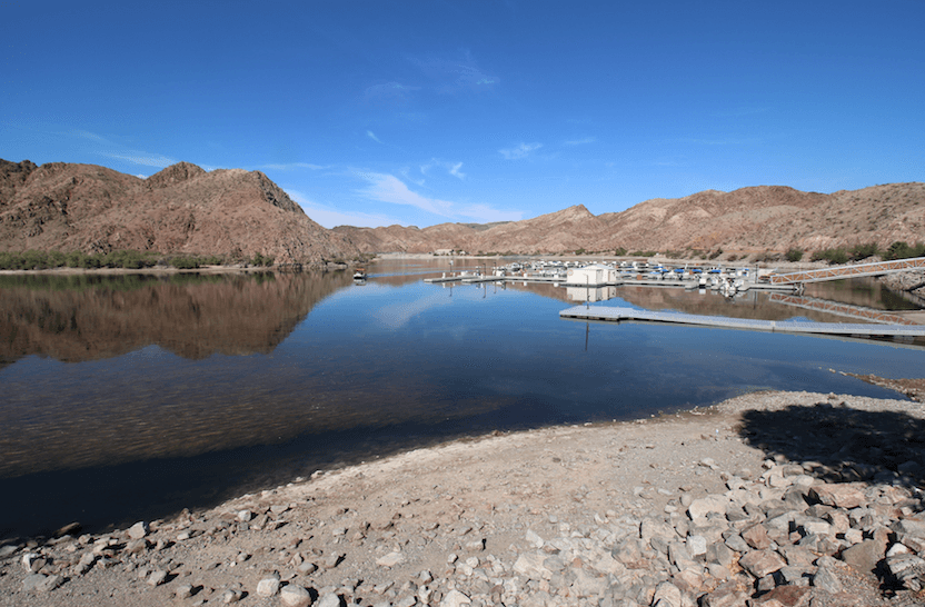 Lake Mead National Recreation Area Campgrounds-Willow Beach Marina