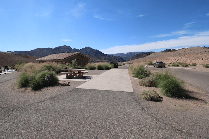 Lake Mead National Recreation Area Campgrounds-Willow Beach Site B3