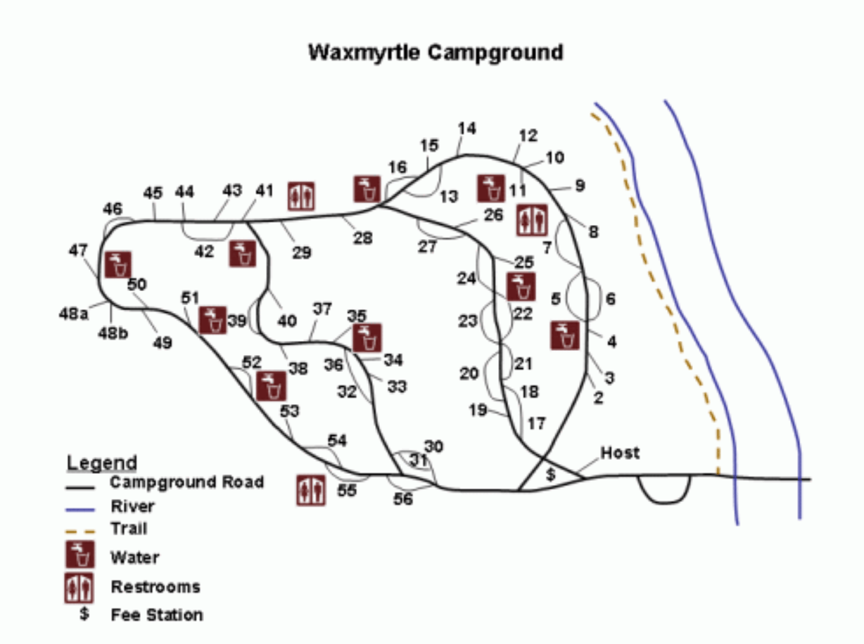 Waxmyrtle Campsite Photos Campground Info Amp Reservations