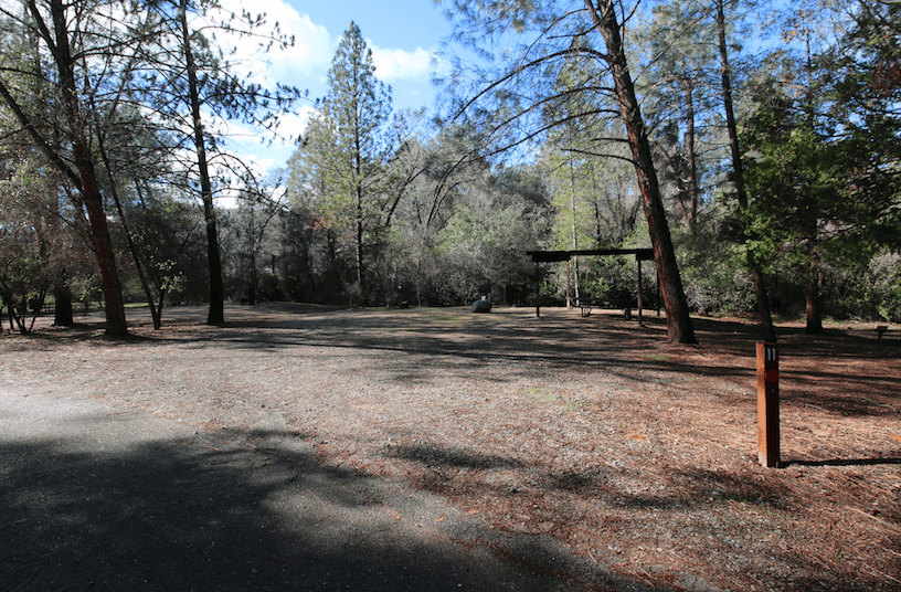 Lake McClure Campgrounds_Horseshoe Bend A11
