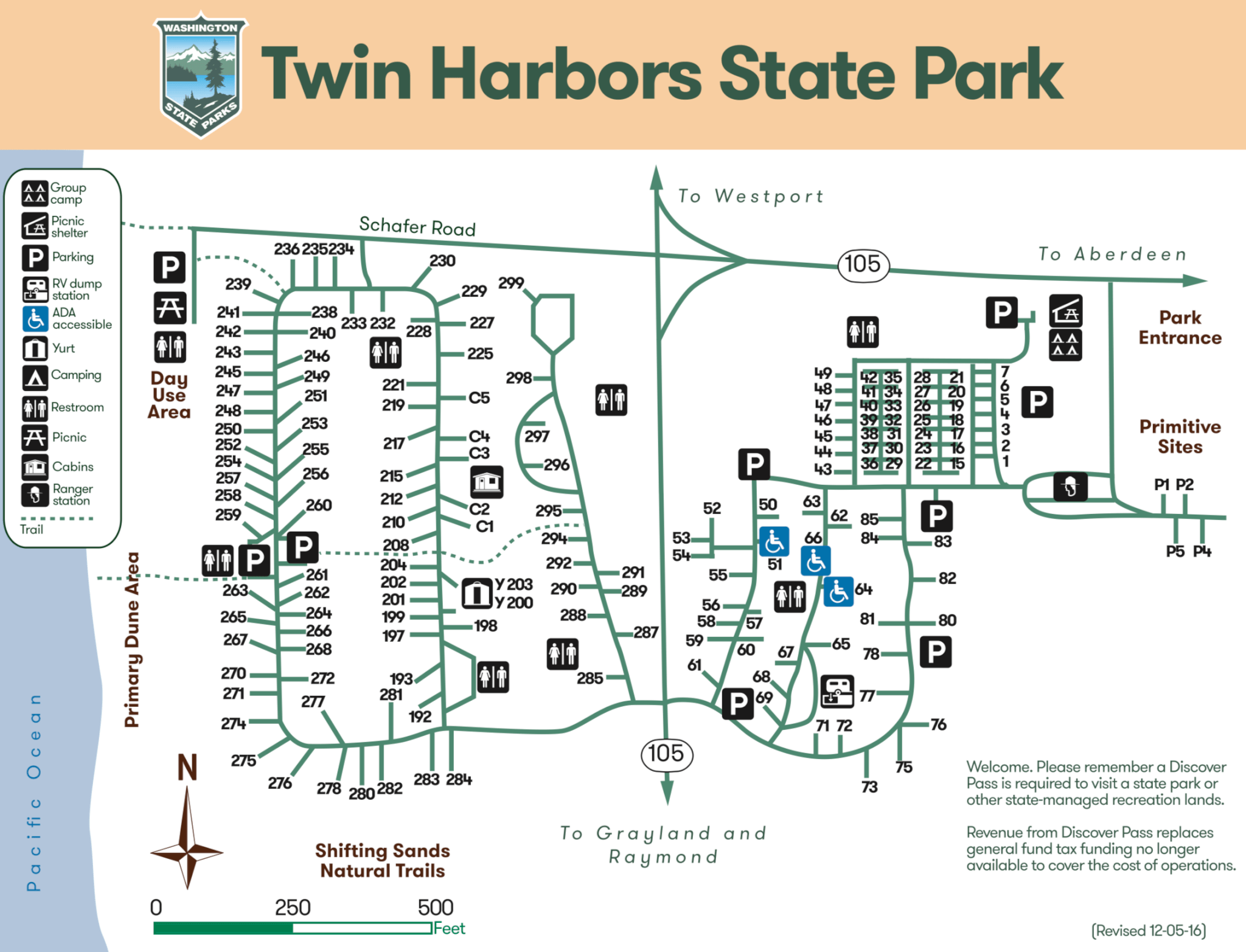 Twin Harbors State Park Campsite Photos Info Amp Reservations