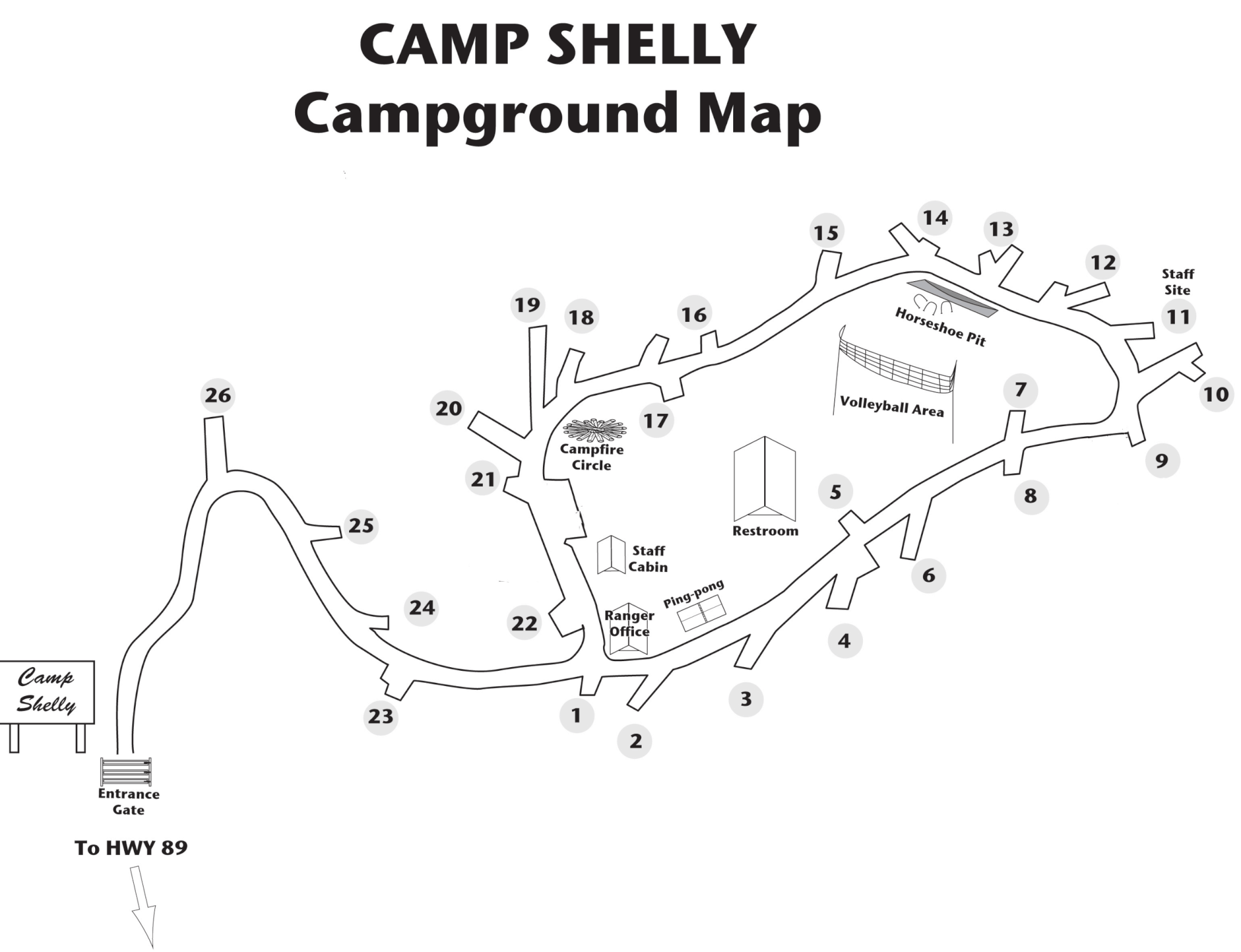 Camp Sy - Campsite Photos, Camping Info & Reservations Camp Richardson Campground Map on