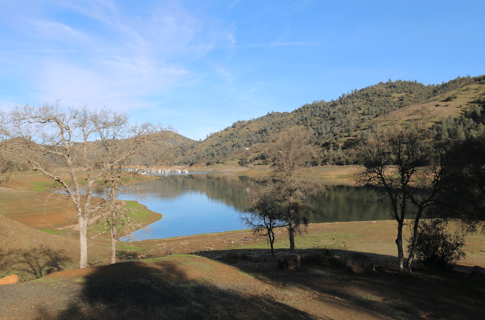 Don Pedro Lake Camping-Moccasin Point View