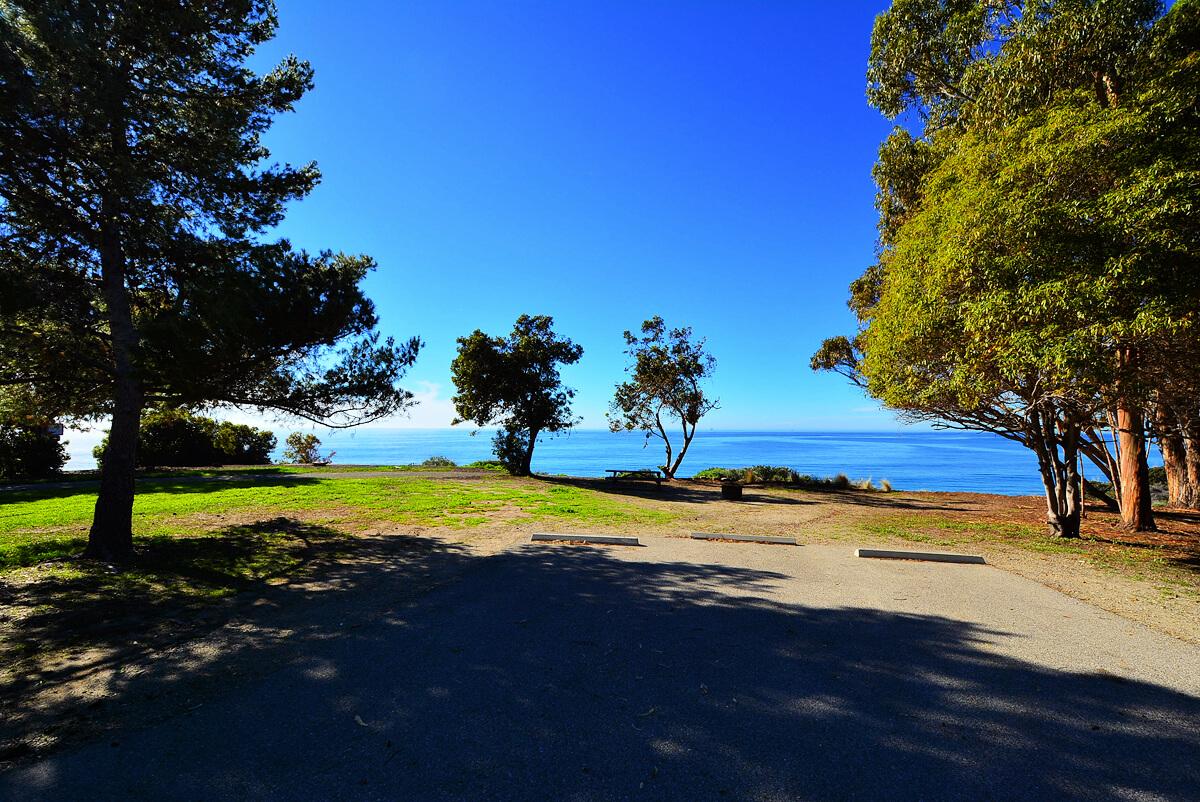 Best Santa Barbara Campgrounds-El Capitan State Beach Site 84