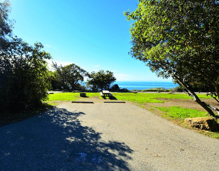 Best Santa Barbara Campgrounds-El Capitan State Beach Site 34