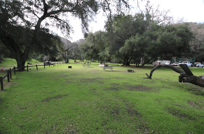 Best Santa Barbara Campgrounds-Paradise Picnic Area