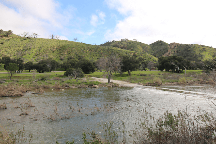 Best Santa Barbara Campgrounds-Sage Hill Group Site 5