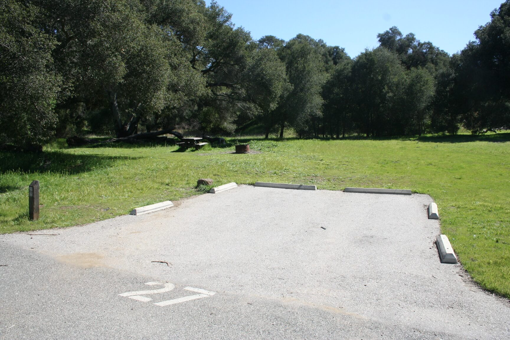 Leo Carrillo & Malibu Creek Campgrounds Are Now Open For Camping - Malibu Creek #27 Before Fire