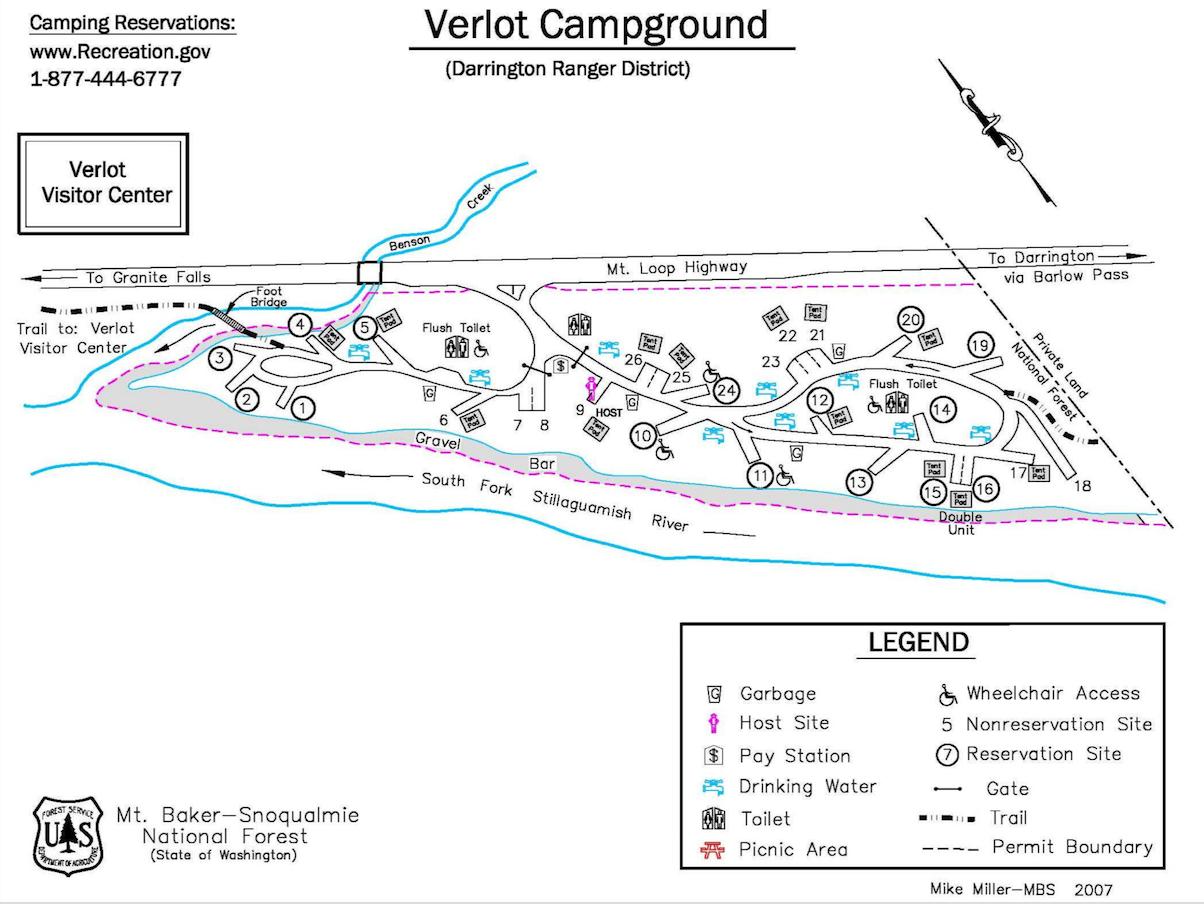 Verlot Campsite Photos Campground Information And