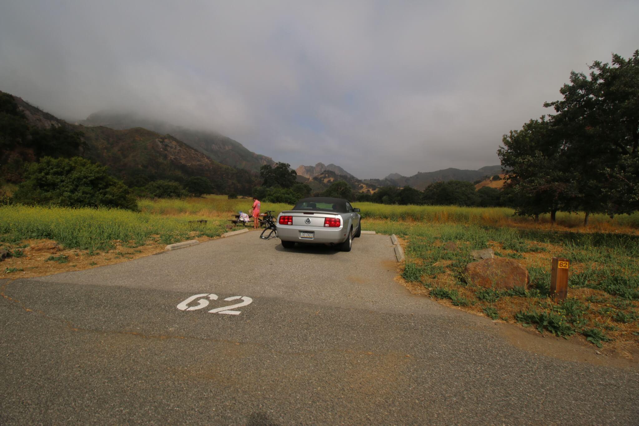 Malibu Creek State Park Campsite #62